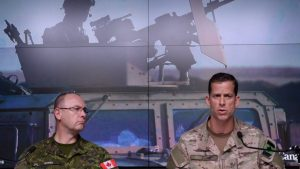Canadian troops has joined more than 45 countries to liberate Mosul Ninewa